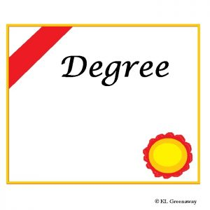 Certificate of degree