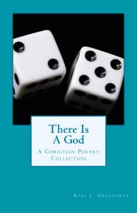 Retired There is a God Cover; Teal background with a pair of dice