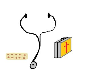 Stethoscope,Bandaid,First Aid Kit