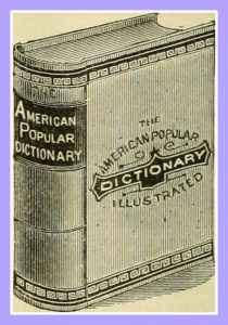 Image of Anitque Dictionary